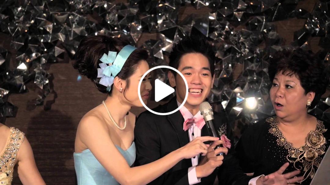 彼得爸與蘇珊媽婚禮紀錄   MV